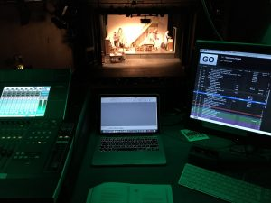 View from the ADC sound box