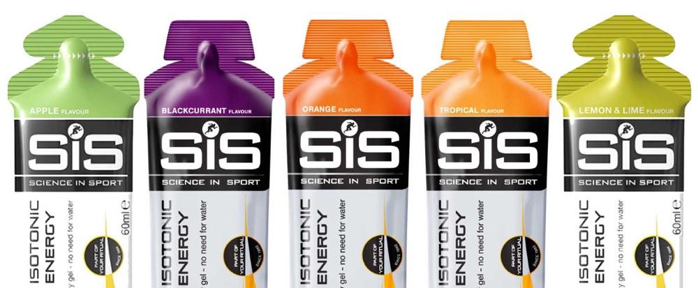 SiS Energy Gels