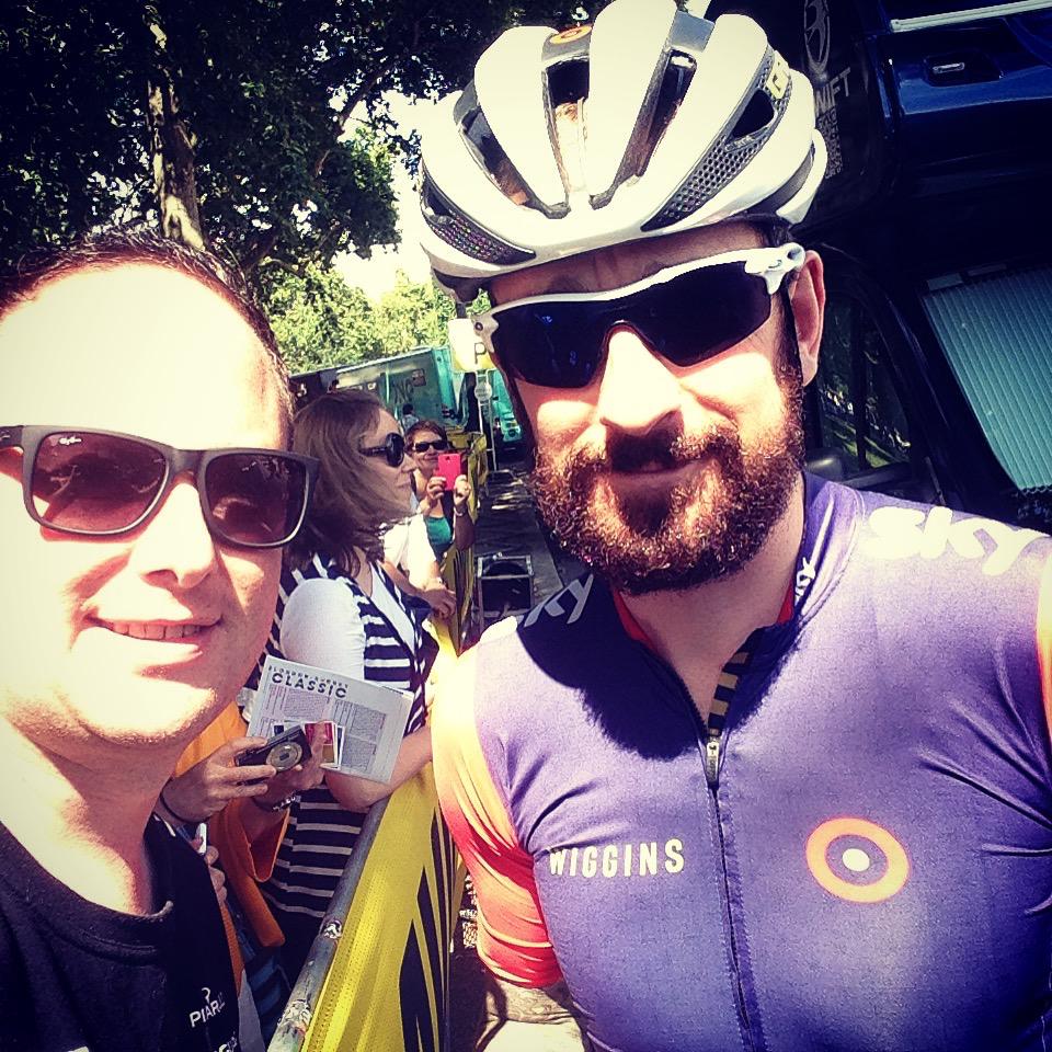 Cycling: Meeting Wiggo