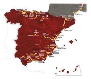 La Vuelta Route 2017